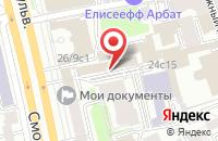 Схема проезда до компании Словолит в Москве