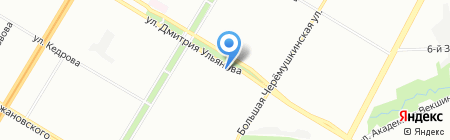 Бубнов и партнеры на карте Москвы