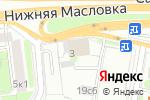 Схема проезда до компании Абрис Тур в Москве