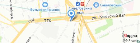 ФинЭксперт на карте Москвы