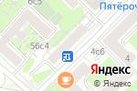 Схема проезда до компании Планета Садовод в Москве