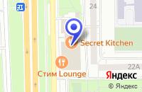 Схема проезда до компании МЕБЕЛЬНЫЙ САЛОН АЙКОН в Москве
