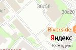 Схема проезда до компании Паркетный метр в Москве