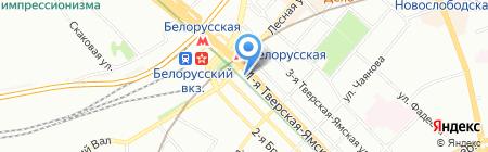 Бархатный Сезон Люкс на карте Москвы