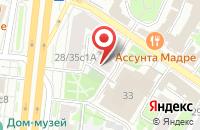 Схема проезда до компании Отечество в Москве