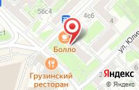 Схема проезда до компании Новострой в Москве