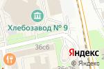 Схема проезда до компании Сlassicflame в Москве