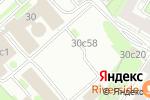 Схема проезда до компании Живой камень в Москве