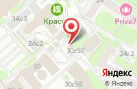 Схема проезда до компании РСПП в Москве
