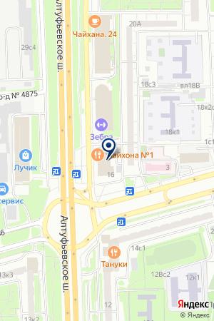 МАГАЗИН ТКАНИ на карте Москвы