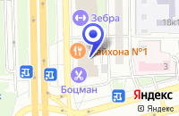 Схема проезда до компании МЕБЕЛЬНЫЙ САЛОН КУХНИ РОССИИ в Москве