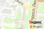 Схема проезда до компании Магазин мужской одежды на проспекте Ленина в Туле