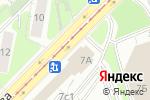 Схема проезда до компании The king в Москве