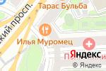Схема проезда до компании Тарас Бульба в Москве