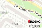 Схема проезда до компании Свобода в Москве