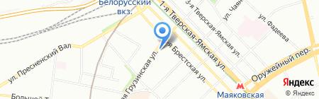 Банк Русский Стандарт на карте Москвы