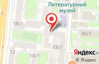 Схема проезда до компании Футбольное Агентство в Москве