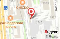 Схема проезда до компании Авиафон в Москве