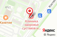 Схема проезда до компании Вестком в Москве