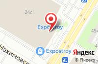 Схема проезда до компании Природный камень в Москве