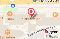 Схема проезда до компании Синтез Рекордз в Москве