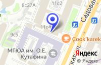 Схема проезда до компании ИКБ ПЕТРОФФ-БАНК в Москве
