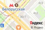 Схема проезда до компании Мансарда в Москве