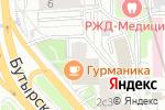 Схема проезда до компании Радиант в Москве