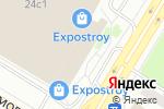 Схема проезда до компании Волховец межкомнатные двери в Москве