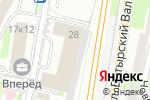 Схема проезда до компании Парламентская газета в Москве