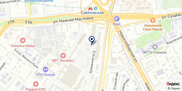 ТФ БРИСТОЛЬ И К на карте Москве