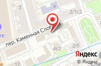 Схема проезда до компании Финтраст в Москве