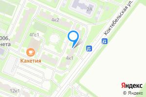 Однокомнатная квартира в Москве м. Улица Старокачаловская, Коктебельская улица, 4к1