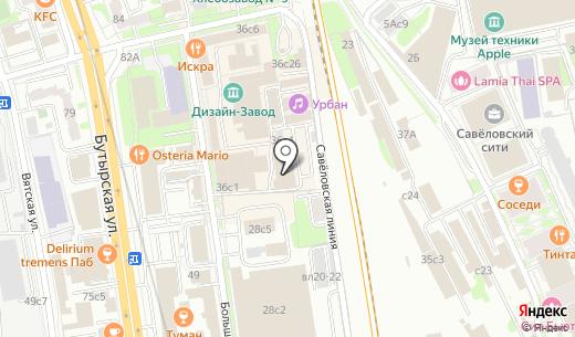 New People. Схема проезда в Москве