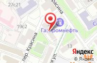 Схема проезда до компании Прага-С в Москве
