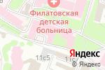 Схема проезда до компании Детская клиническая больница №13 им. Н.Ф. Филатова в Москве