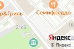 Схема проезда до компании КБ Русский Торговый Банк в Москве