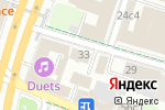 Схема проезда до компании Русский самовар в Москве