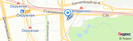 Электростройэнергосистема на карте Москвы