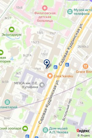 Компания Prime Bank Alliance на карте Москвы