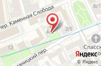 Схема проезда до компании Флетпро в Москве