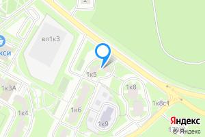 Однокомнатная квартира в Москве ул. Грина, 1к5