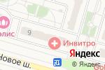 Схема проезда до компании Qiwi в Дрожжино