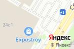 Схема проезда до компании Дориан-Двери в Москве