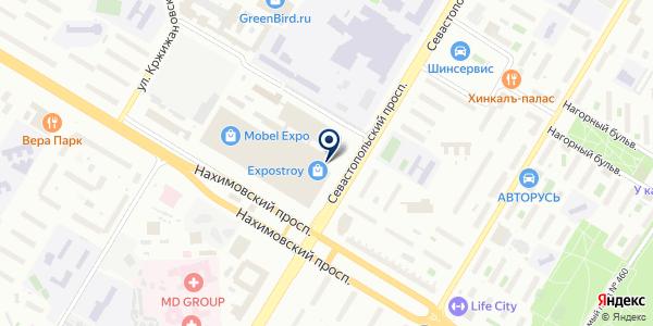Donolux на карте Москве