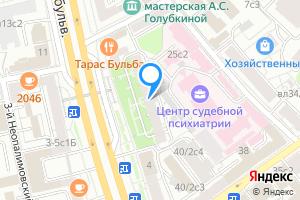 Сдается двухкомнатная квартира в Москве Смоленский бульвар, 6-8