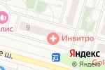 Схема проезда до компании Штрафной Удар в Дрожжино