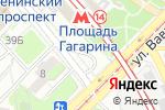 Схема проезда до компании Магазин табачных изделий на ул. Вавилова в Москве