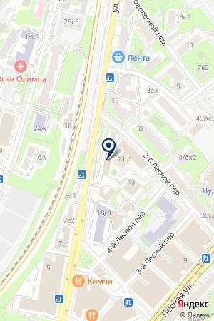 ИНФОРМАЦИОННОЕ АГЕНТСТВО ТРАНСПОРТНЫЙ СЕРВЕР МОСКВЫ на карте Москвы