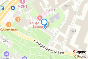 Сдается двухкомнатная квартира в Москве 1-Фрунзенская, дом.6